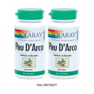 SOLARAY PAU D'ARCO TWINPACK BEST BUY (CLEARANCE)